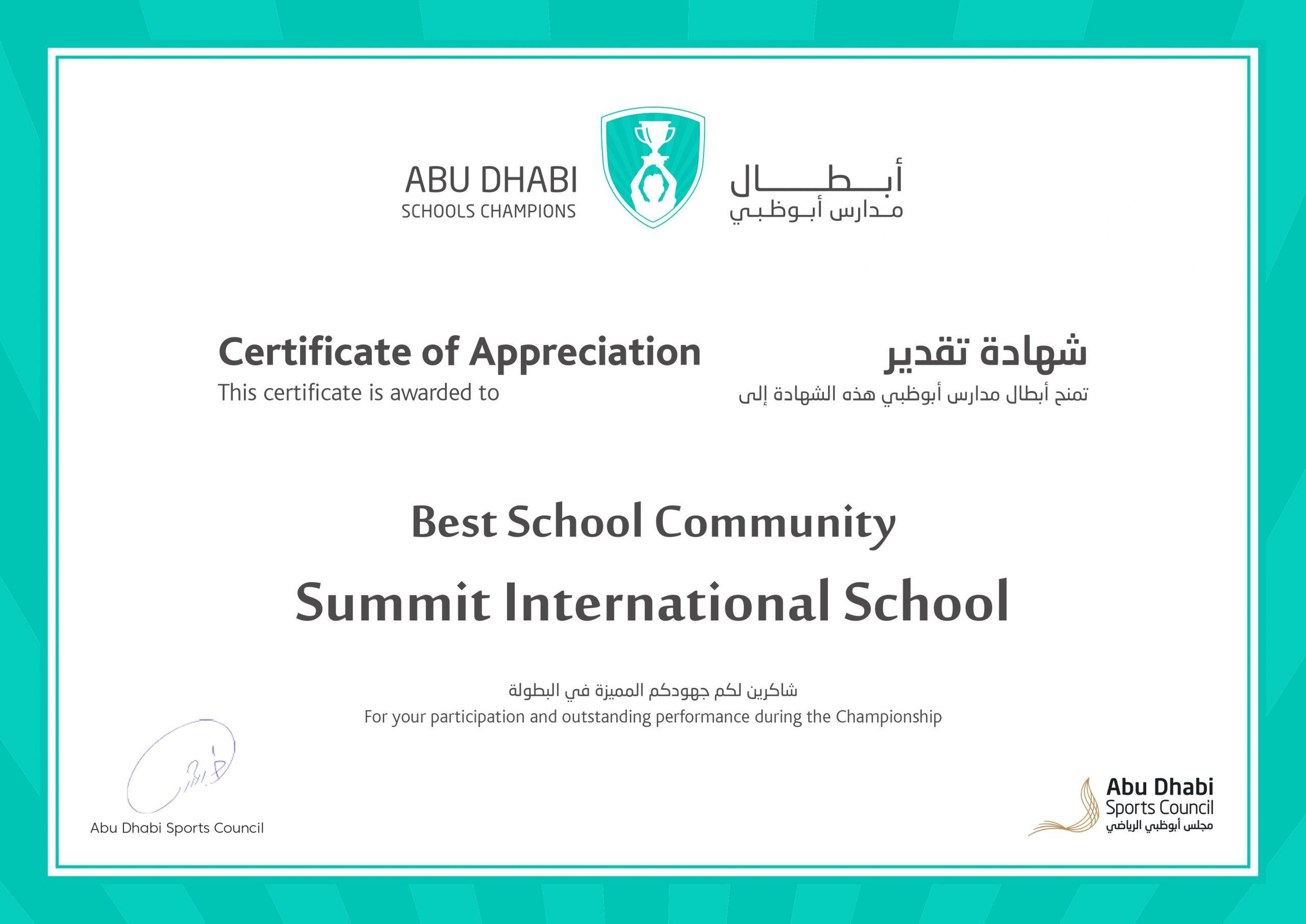Best School Community